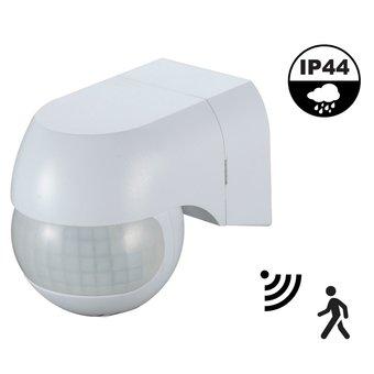 Opbouw Bewegingsmelder Wit, 180 graden, Max. 800w, IP44, 2 Jaar Garantie