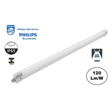 PH Led Tri Proof 120cm, 36w, 4320 Lumen, 4000K Neutraal Wit, Philips LED Driver, Philips LumiLEDS, IP65, 3 jaar garantie
