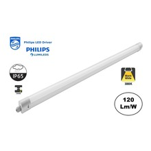 PH Led Tri Proof 150cm, 50w, 6000 Lumen, 3000K Warm Wit, Philips LED Driver, Philips LumiLEDS, IP65, 3 jaar garantie