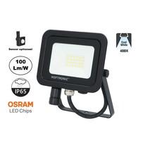 LED Breedstraler SBL 20w, 2000 Lumen, 4000K Neutraal Wit, (Bewegingssensor Optioneel), IP65, 2 Jaar Garantie
