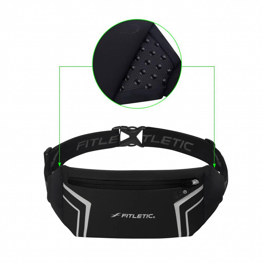 Fitletic Fitletic WR01-01 Heupband Blitz Zwart