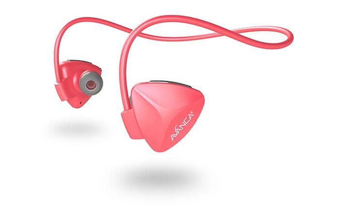 Avanca Avanca D1 AVBS-1107 Sports Headset Coral