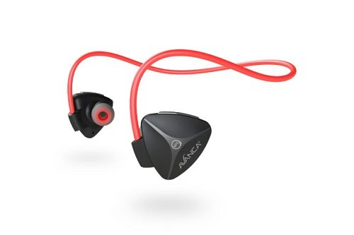 Avanca Avanca D1 Bluetooth Headset Black/Red