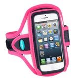 Tune Belt Tune Belt AB87RP Sport armband reflecterend roze