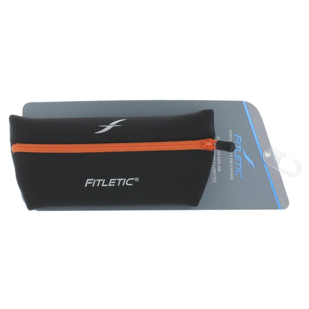 Fitletic Fitletic ADP01-3 Add-on pouch zwart oranje