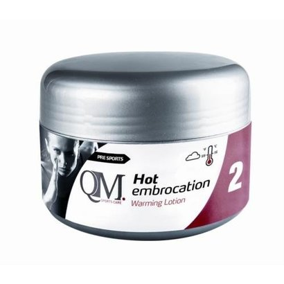 QM Sports Care Hot Embrocation 200ml
