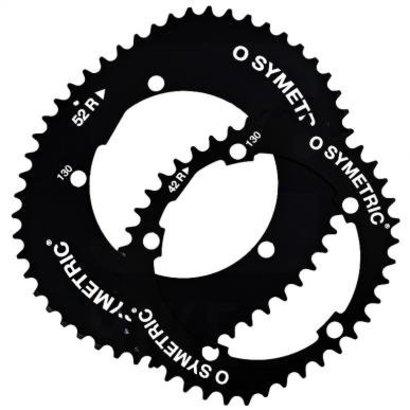 O.Symetric Osymetric kettingbladen kit Shimano 10sp.