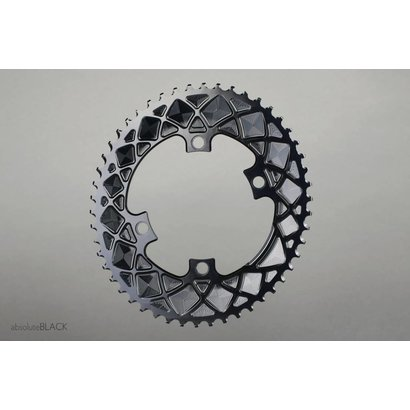 Absolute Black AbsoluteBLACK ovaal kettingblad Shimano 110mm