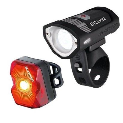 Sigma Sigma Buster 200 + Nugget fietsverlichting