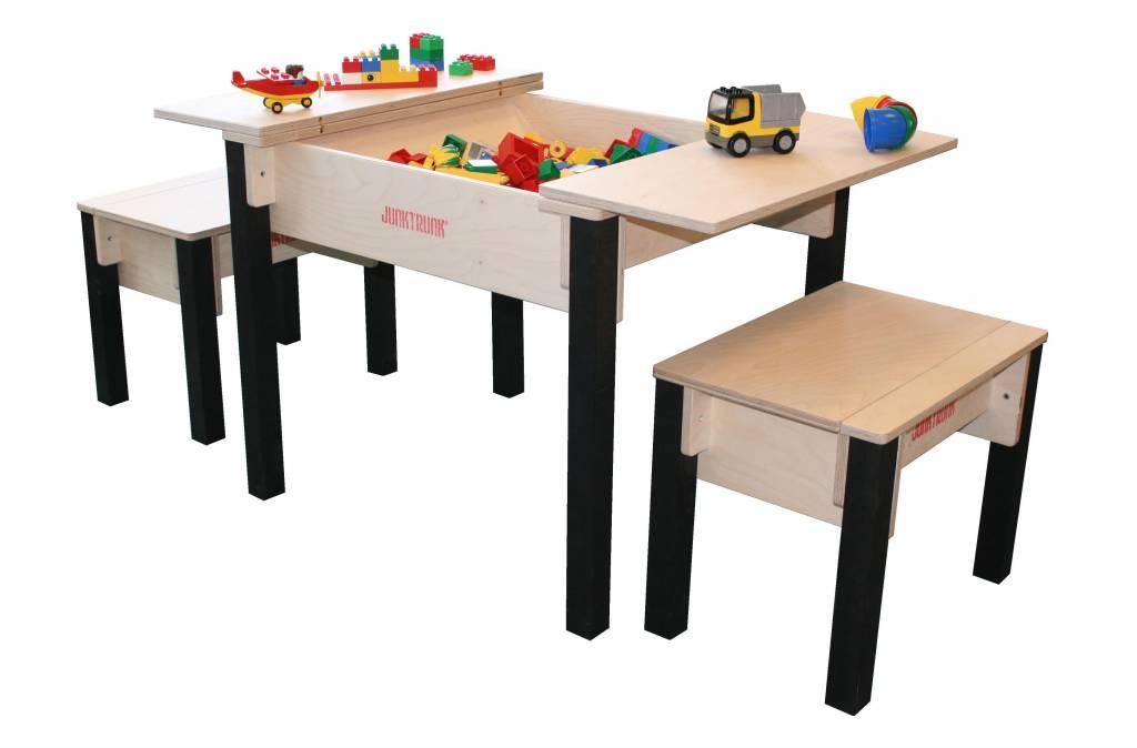 Kindertisch Set Aus Holz Kindersitzecke Aus Holz Mit