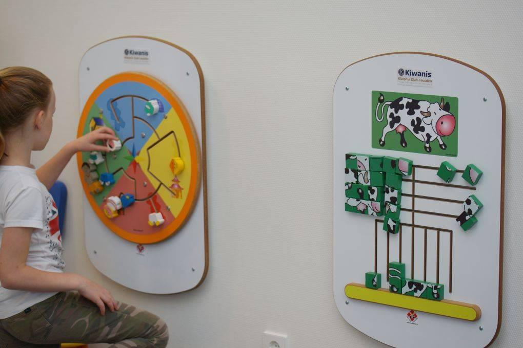 Wartezimmer-Einrichtung, Kinderecke im Warteraum