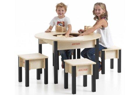 Kindersitzgruppe rund
