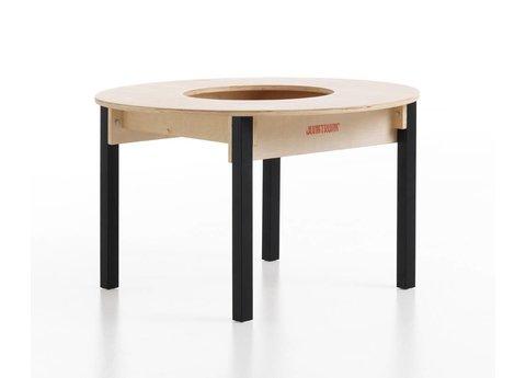 Runder Kindertisch aus Holz