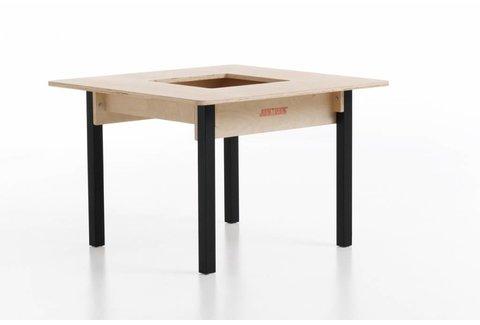 Kindertisch aus Holz Viereckig