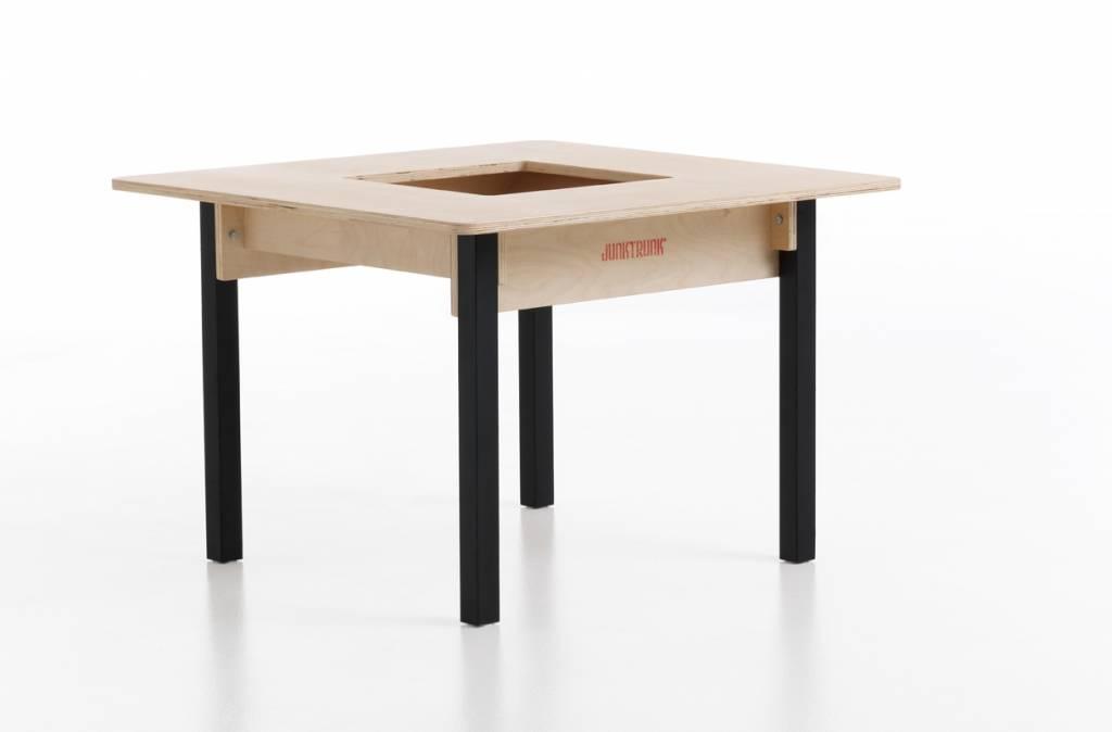Kindertisch Massivholz - Kindertisch aus massiv Holz natur viereckig