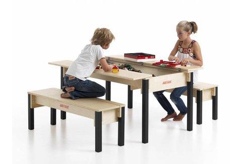 Lego Tisch aus Holz