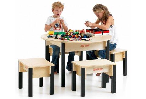 Lego Tisch rund mit Stühlen