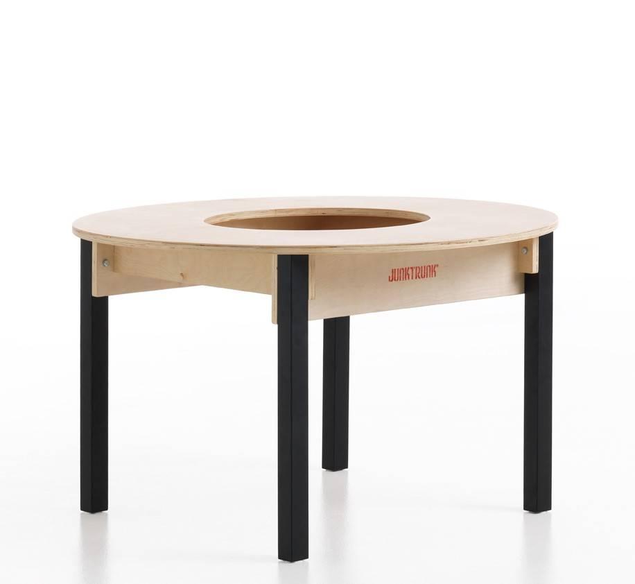 lego tisch rund mit st hlen spieltischshop. Black Bedroom Furniture Sets. Home Design Ideas