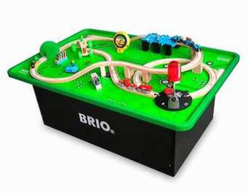 Tisch Eisenbahn.Brio Eisenbahn Spieltisch