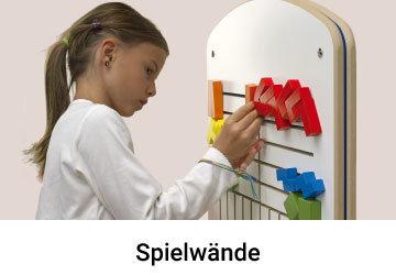 Holz Spielwand für Wartezimmer