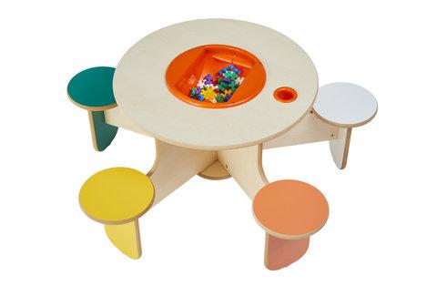 Spieltisch 5 Kinder