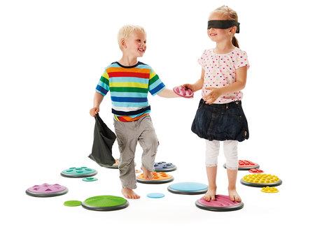 Taktiles Spielzeug Tastplatten