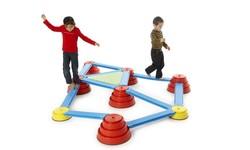 Bewegungsparcour Gonge Build n Balance
