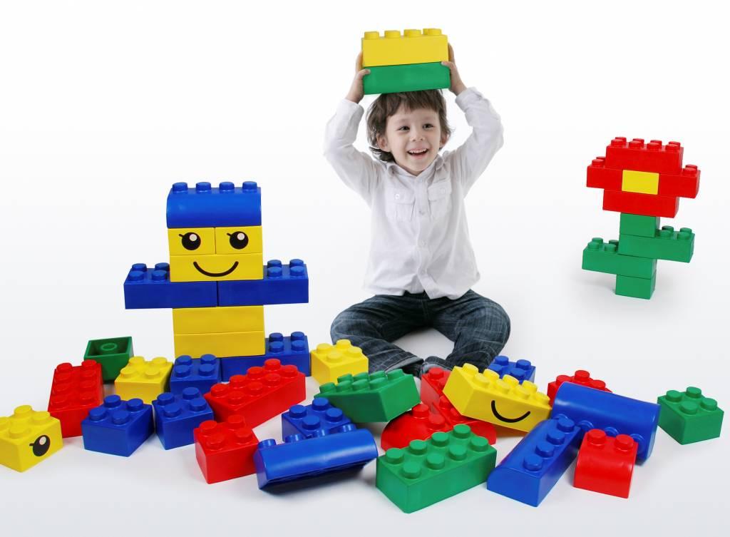 Maxi Bausteine aus Schaumstoff - Maxibausteine Modell LEGO ...