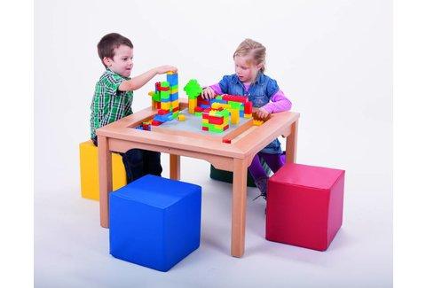 LEGO DUPLO Spieltisch mit Stühlen Schaumstoffwürfeln