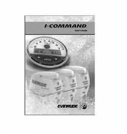 Johnson Evinrude I-commend digital user guide