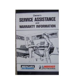Owner's service assistance and warranty information Mercury / Mariner