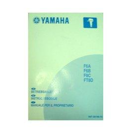 Yamaha user manual 6 to 8 hp