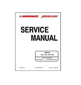 Mercury Mariner Service manual 135/150/175/200