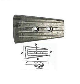 Martyr Volvo Penta Plate DPH System drive Zinc / Aluminum 3588746