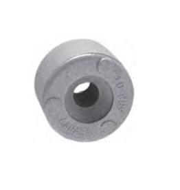 Martyr Ronde anode 24,5 mm, 11/13 dikte Zink of Aluminium voor alle merken