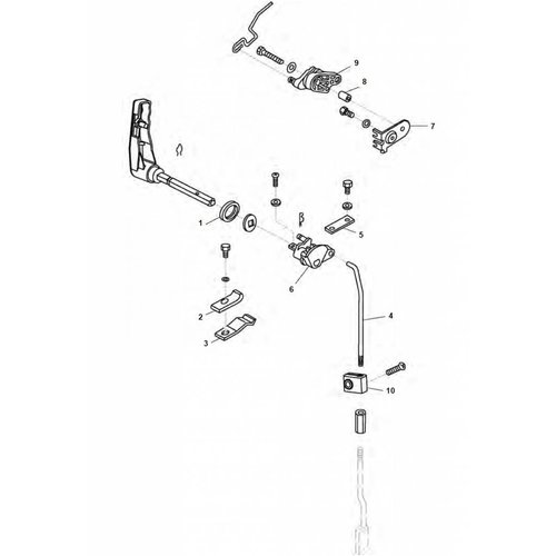 Tohatsu (Parsun)  Control System MFS8 / MFS9.8 HP