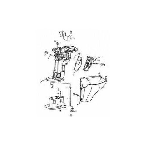 Tohatsu (Parsun) Tohatsu Upper Casing & Drive Parts