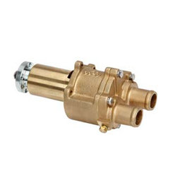RecMar Mercruiser Sea Water Pump. Brass assembly with stainless steel fittings for V8 engines 807151A12