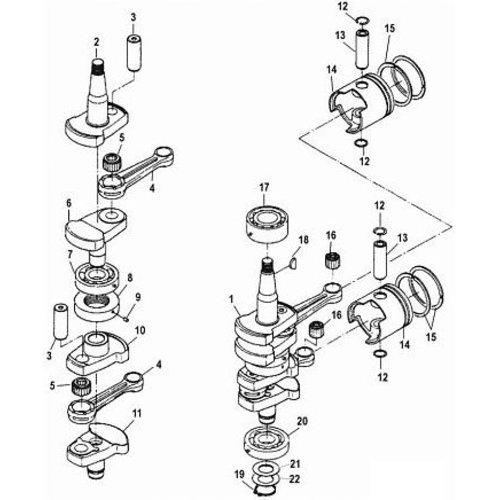 Suzuki Crankshaft Parts