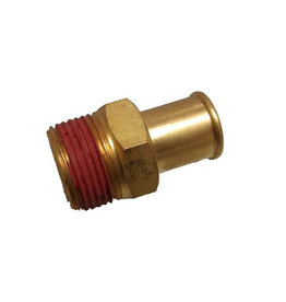 RecMar Mercruiser Straight Fitting 3/4-14 x 1 (Brass) (22-866725)