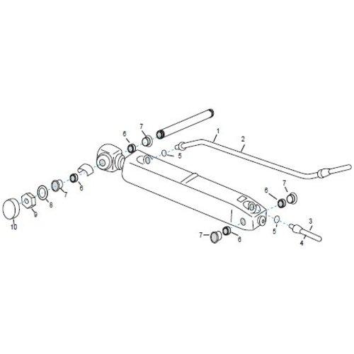 Volvo Penta trim hoses & onderdelen SX-C, SX-R, SX-S