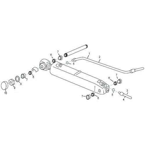 Volvo trim hoses & onderdelen SX-C, SX-R, SX-S