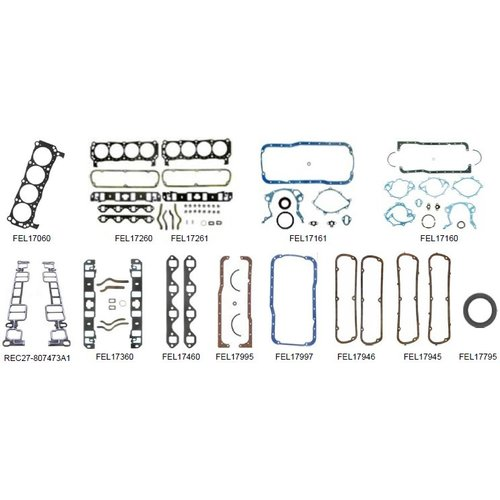 Volvo Penta Gasket Kit Model 5.0 Liter 190/215/220/225 HP Models: FI/FL