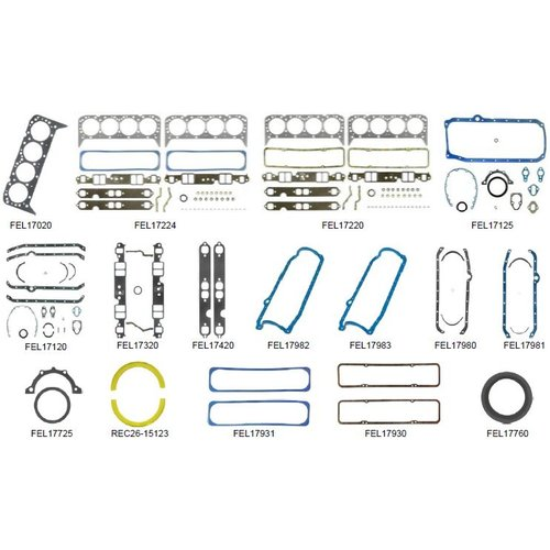 Volvo Penta Gasket Kit AQ 200/210/211/225/231/229 BB225/231 500/501DP (204/205 HP)