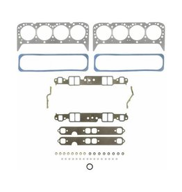 Felpro Mercruiser/Volvo/OMC/General Motor Cylinder Head Gasket Set AQ200 (200 hp); AQ211 (210 hp); AQ225 (225 hp); AQ231 (229 hp); BB225 (225hp); BB231 (229 hp); 500 DP (187 hp); 500 DP (190 hp); 501, 501 DP (204 hp); 501, 501 DP (205 hp)