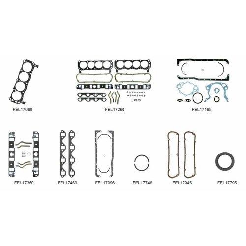 MerCruiser 8 Cylinder Motor Pakkingen 5.8L 233 Ser. No. 3258728 - 4175499 (233 PK); 255 Ser. No. 3258728 - 4175499 (255 PK) BASE FORD Block