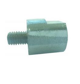 Yanmar Zink Anode w/thread & steel core M8 (27210-20300) 36 mm x 20 mm