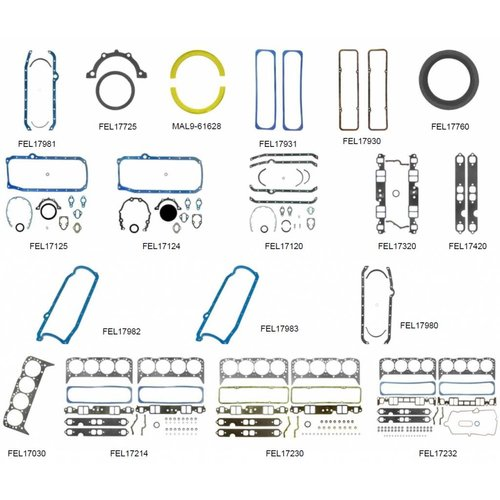 OMC Gasket 5.7L V8 , 250 (215, 220, 250, 260, 270, 290 hp), 250 King Cobra ( 235, 270 hp), 260 (250, 260, 270, 290 hp)