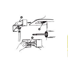 Water inlet / Flushing kit for engine flushing (12612Q2)