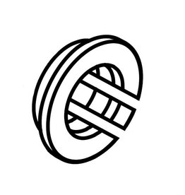 (19) Parsun Bushing, Steering Handle F6A (F5A) B (PAF6-01000001)